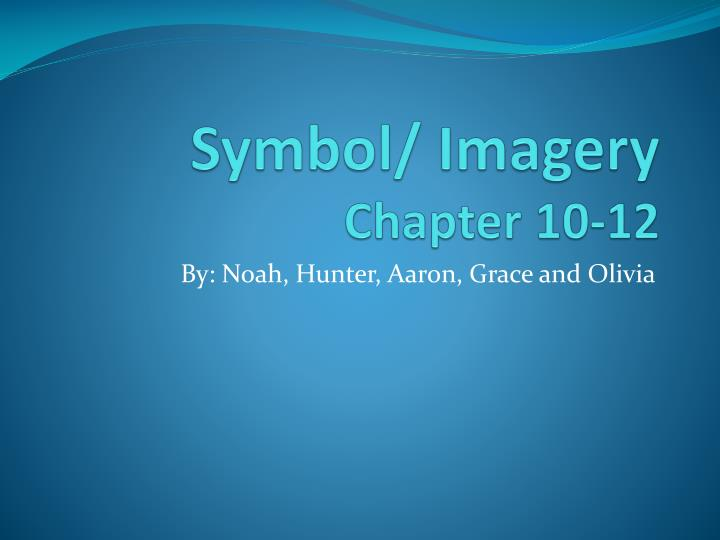 symbol imagery chapter 10 12 n.