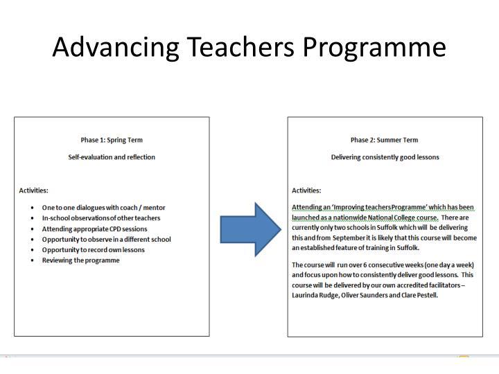 Advancing Teachers Programme