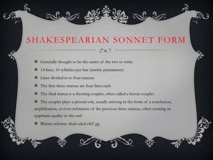 Shakespearian
