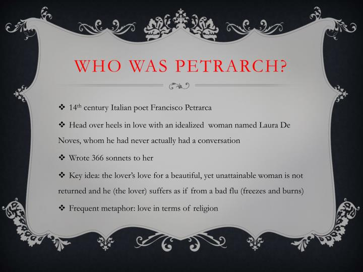 Who was Petrarch?