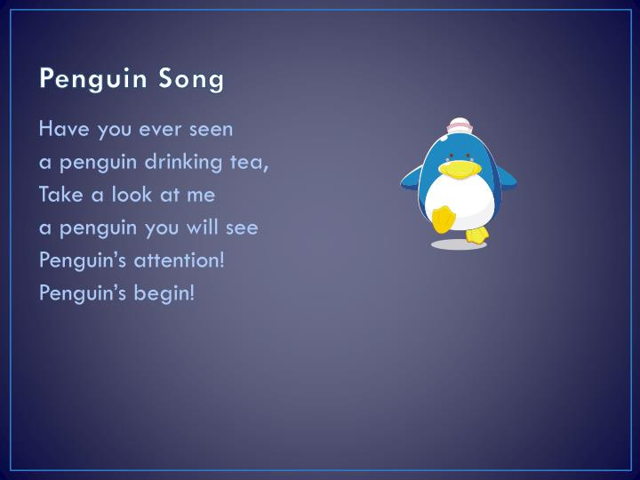 Penguin Song