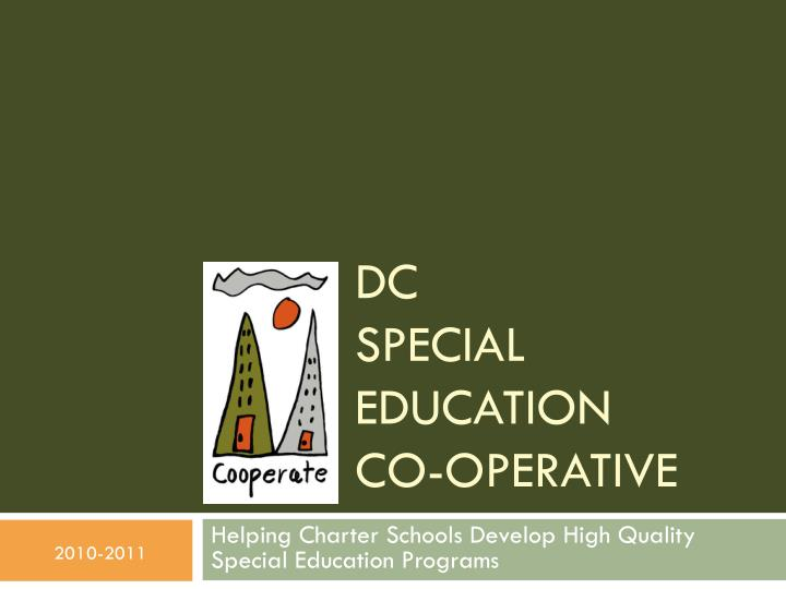 dc special education co operative n.