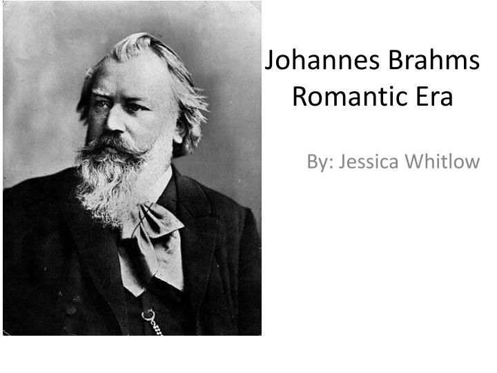 essay about johannes brahms Cradle song or brahms's lullaby was originally written by brahms in 1868 under the title of wiegenlied: guten abend, gute nacht (good evening, good night), and included in his op49 set of five songs.