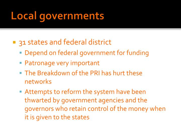 Local governments