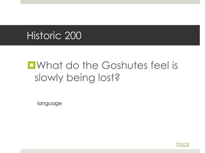 Historic 200