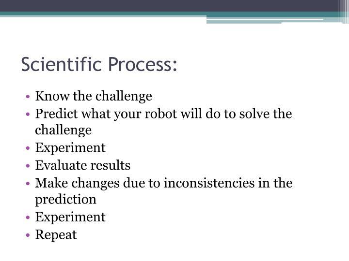Scientific Process: