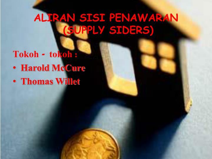Aliran sisi penawaran supply siders