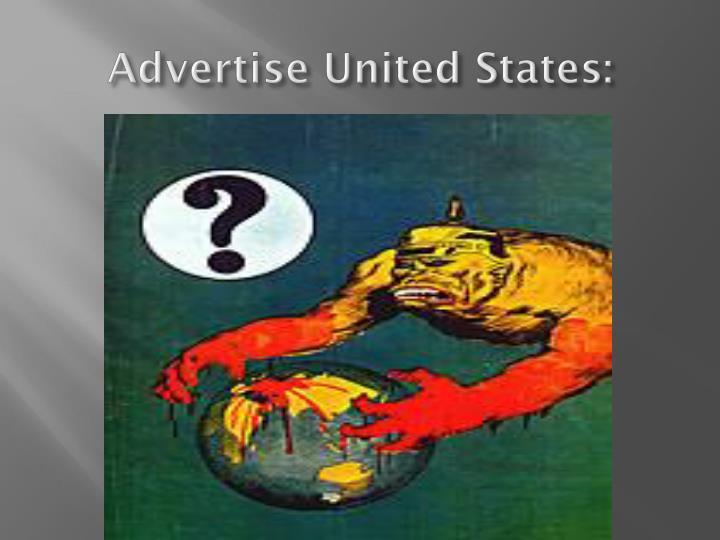 Advertise United States: