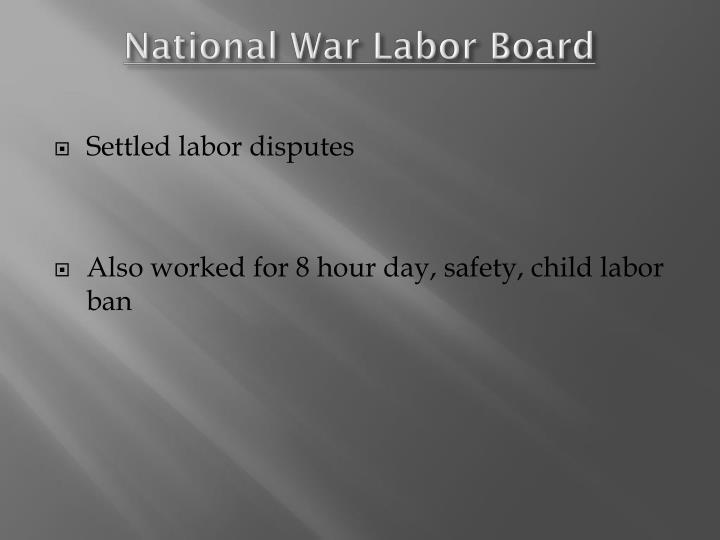 National War