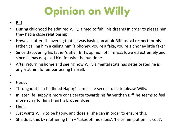 Opinion on Willy