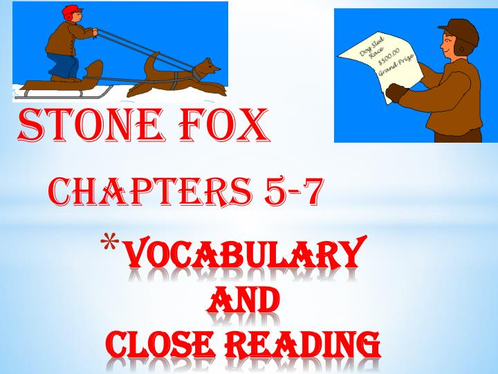 vocabulary and close reading n.