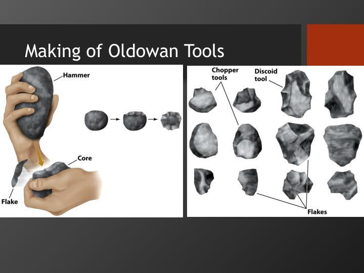 Making of Oldowan Tools