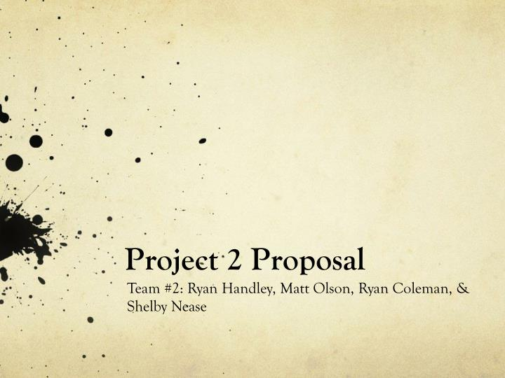 project 2 proposal n.