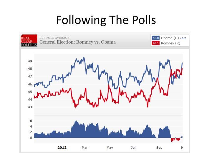 Following The Polls
