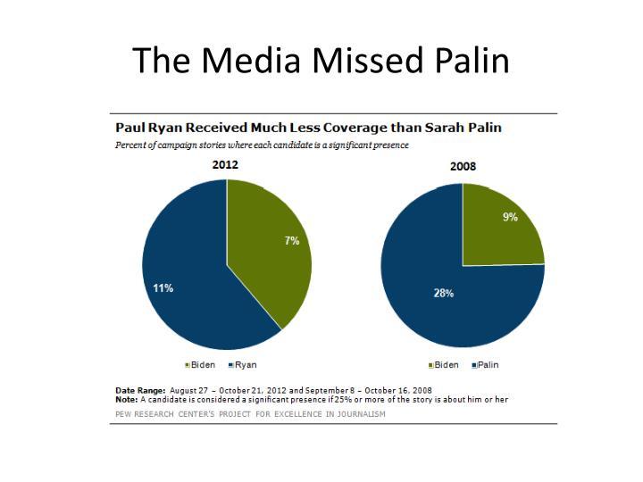 The Media Missed Palin