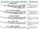 evolution of arabian shield tectonics