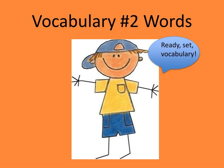 vocabulary 2 words n.