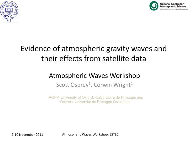 atmospheric waves workshop n.