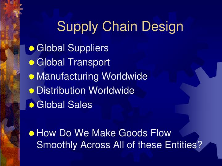 week 4 supply chain design 1 Riordan manufacturing's supply chain design riordan manufacturing (riordan) is a global plastics manufacturing firm established in the early 1990's.