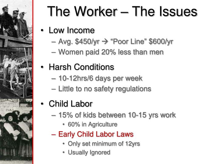 The worker the issues