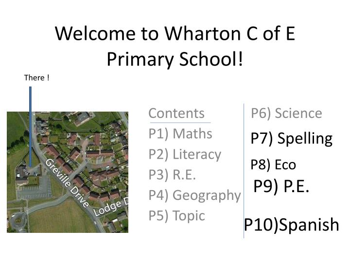 welcome to wharton c of e primary school n.