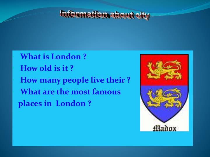 what is london how old is it how many people live their what are the most famous places in london n.