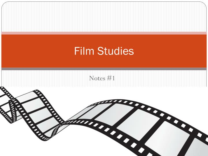 film studies notes Off-screen space - the implied filmic space beyond the borders of the film frame at any given moment in projection persistence of vision - the physiological foundation of the cinema.