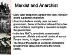marxist and anarchist
