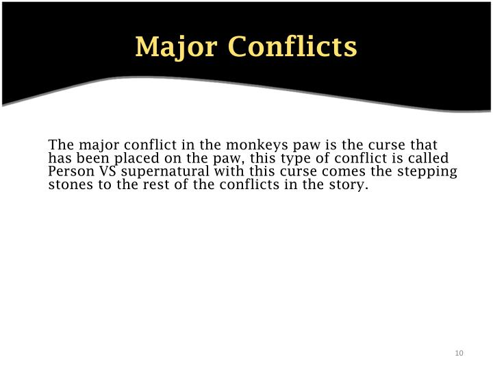 a story of the supernatural in the monkeys paw by w w jacobs The monkey's paw study guide contains a biography of ww jacobs, literature essays, quiz questions, major themes, characters, and a full summary and analysis about the monkey's paw the monkey's paw summary.