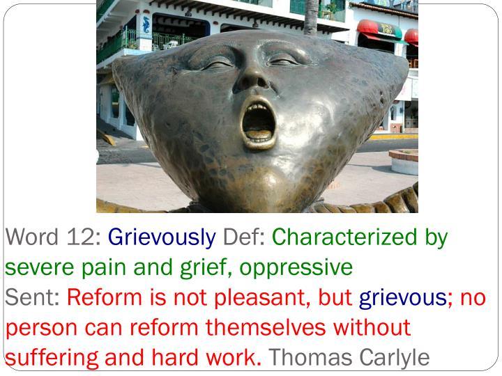 Word 12: