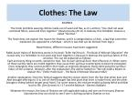 clothes the law