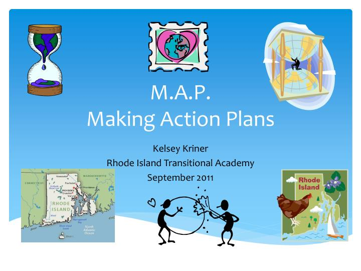 m a p making action plans n.