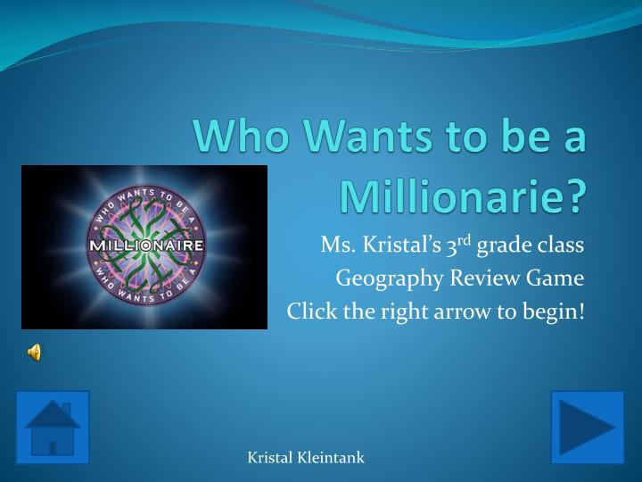 who wants to be a millionarie n.