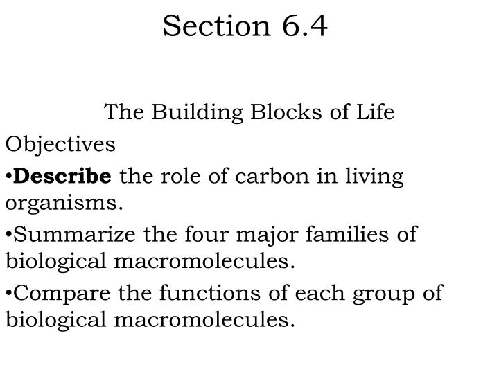 Section 6.4