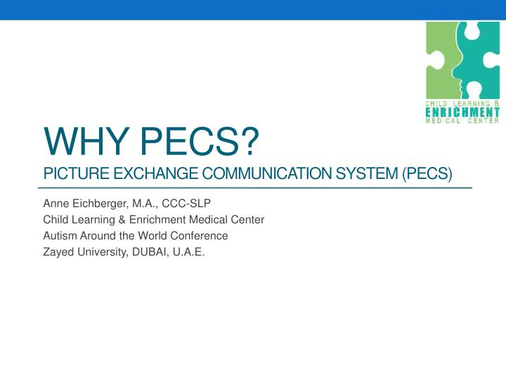 why pecs picture exchange communication system pecs n.