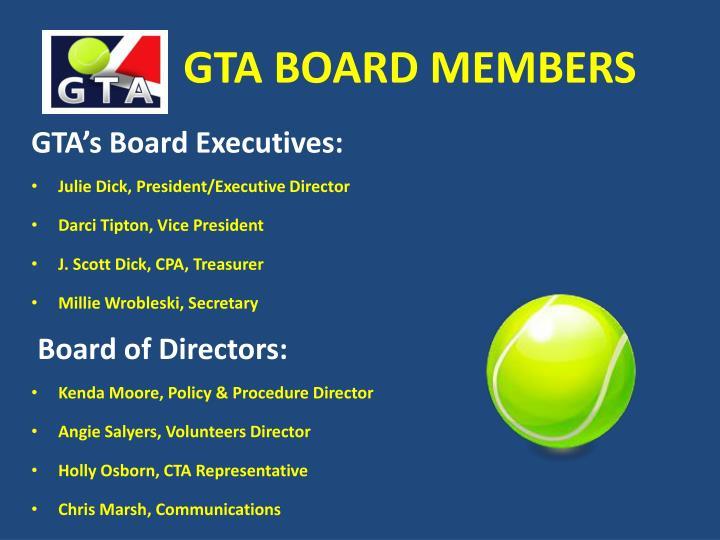 Gta board members