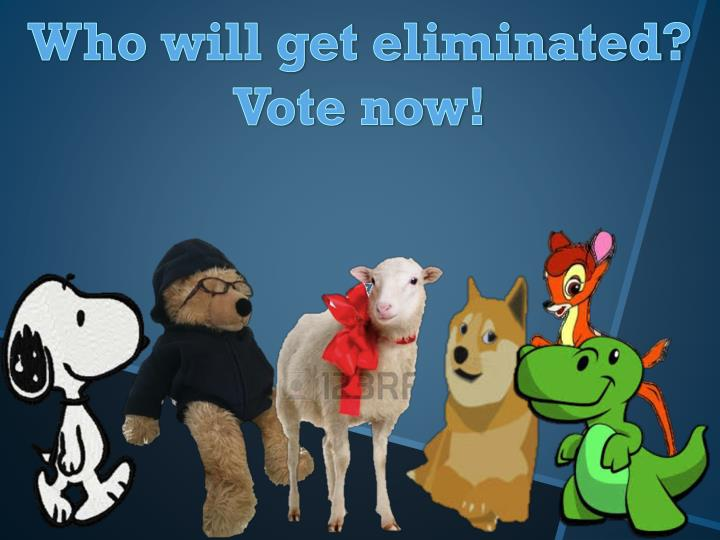 Who will get eliminated?