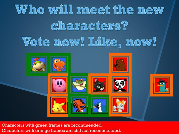 Who will meet the new characters?