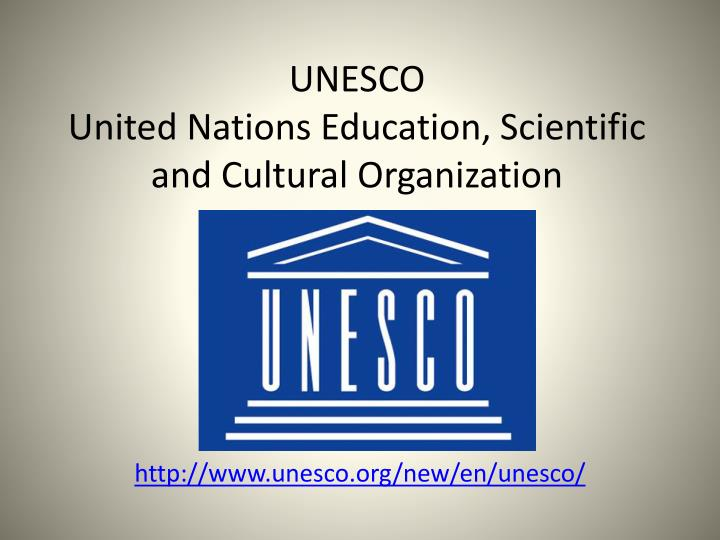 unesco united nations education scientific and cultural organization n.