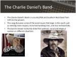 the charlie daniel s band
