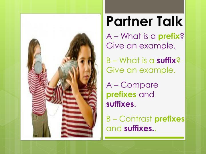 Partner Talk