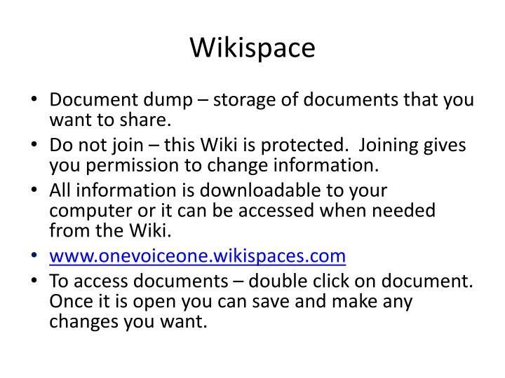 Wikispace