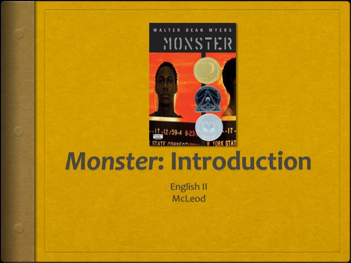 monster introduction n.