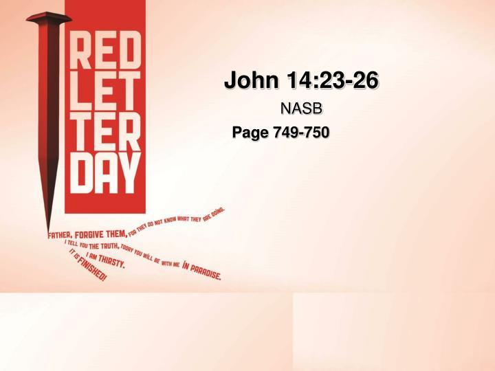 John 14:23-26