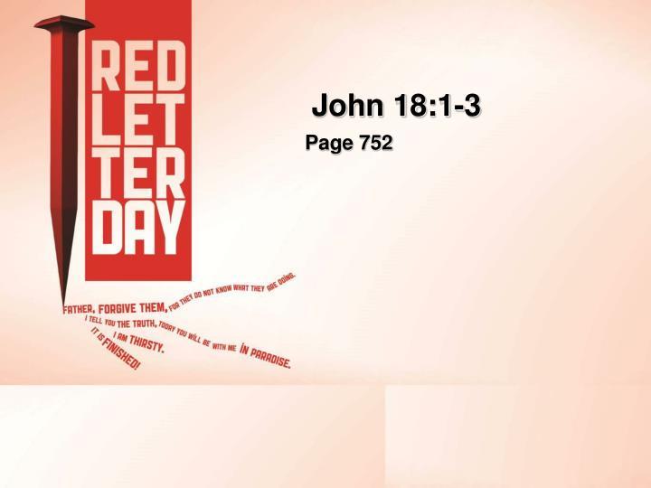 John 18:1-3