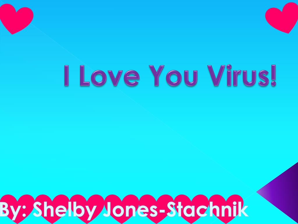 Ppt I Love You Virus Powerpoint Presentation Id2310129