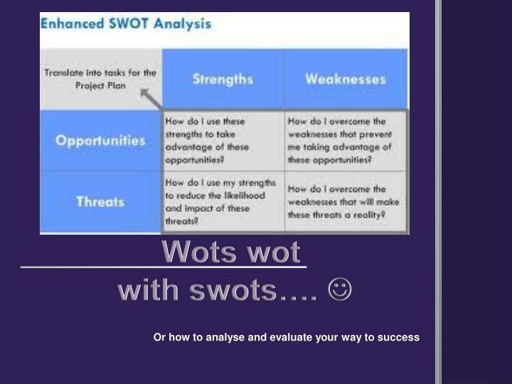a swot analysis of the idine network