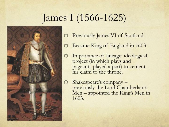 James I (1566-1625)