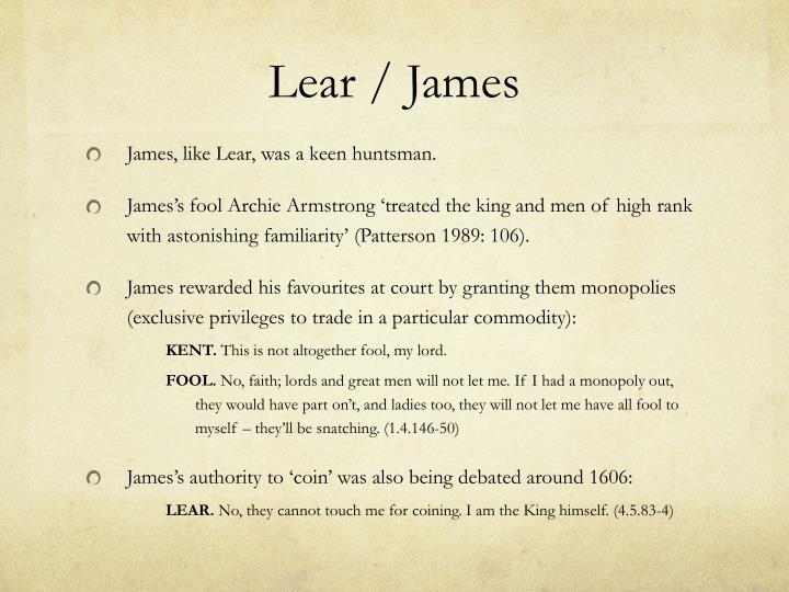 Lear / James