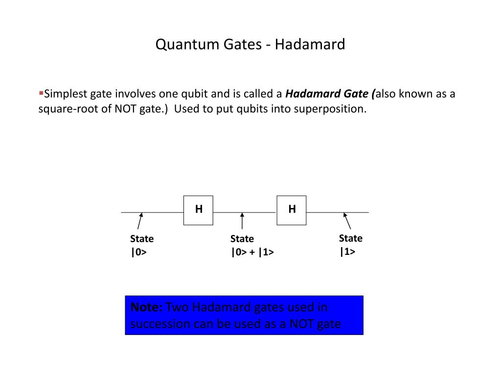 PPT - Quantum computing PowerPoint Presentation - ID:2310999